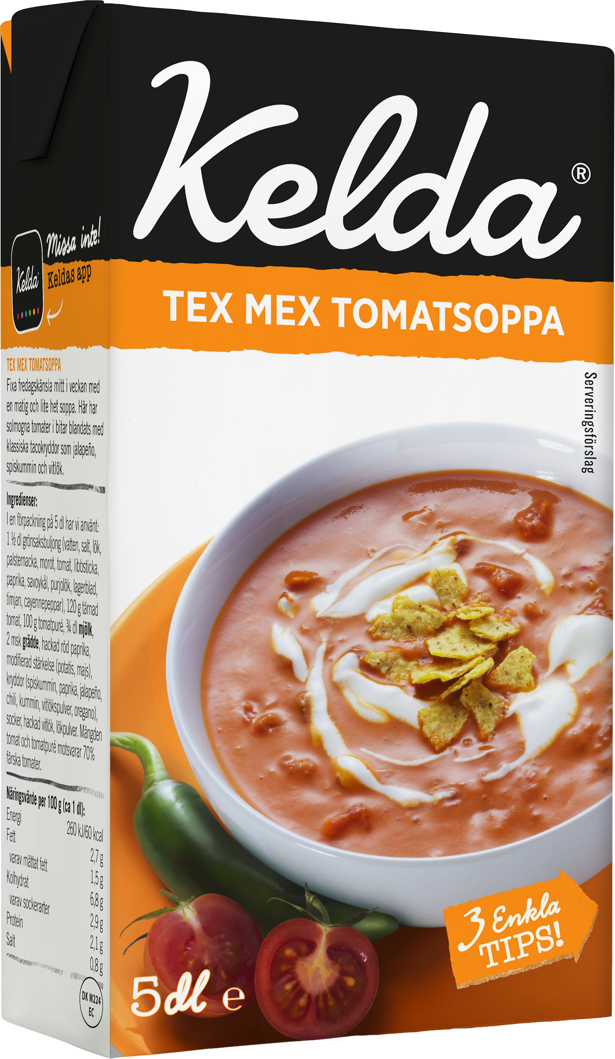 Tex Mex tomatsoppa