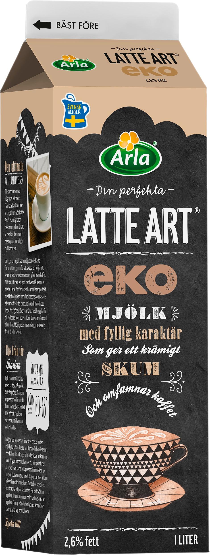 Latte Art EKO 2,6%