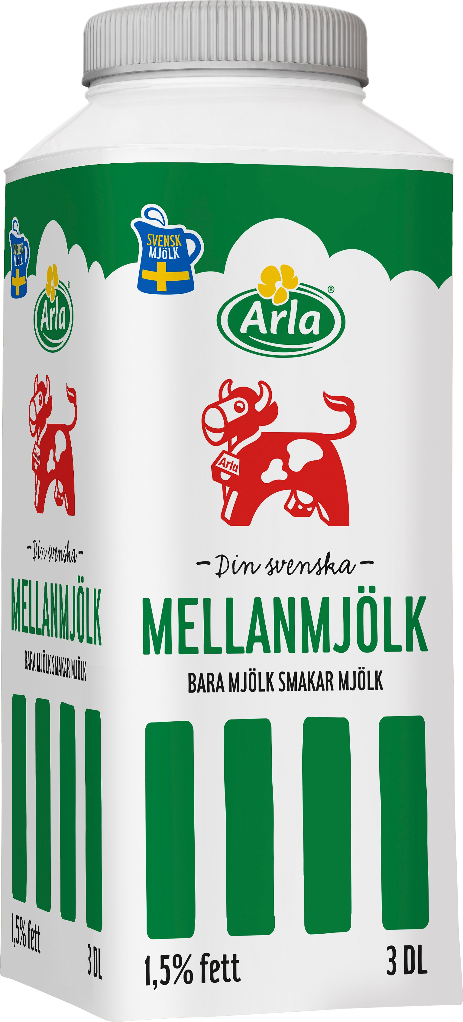 Mellanmjölk 1,5% TT