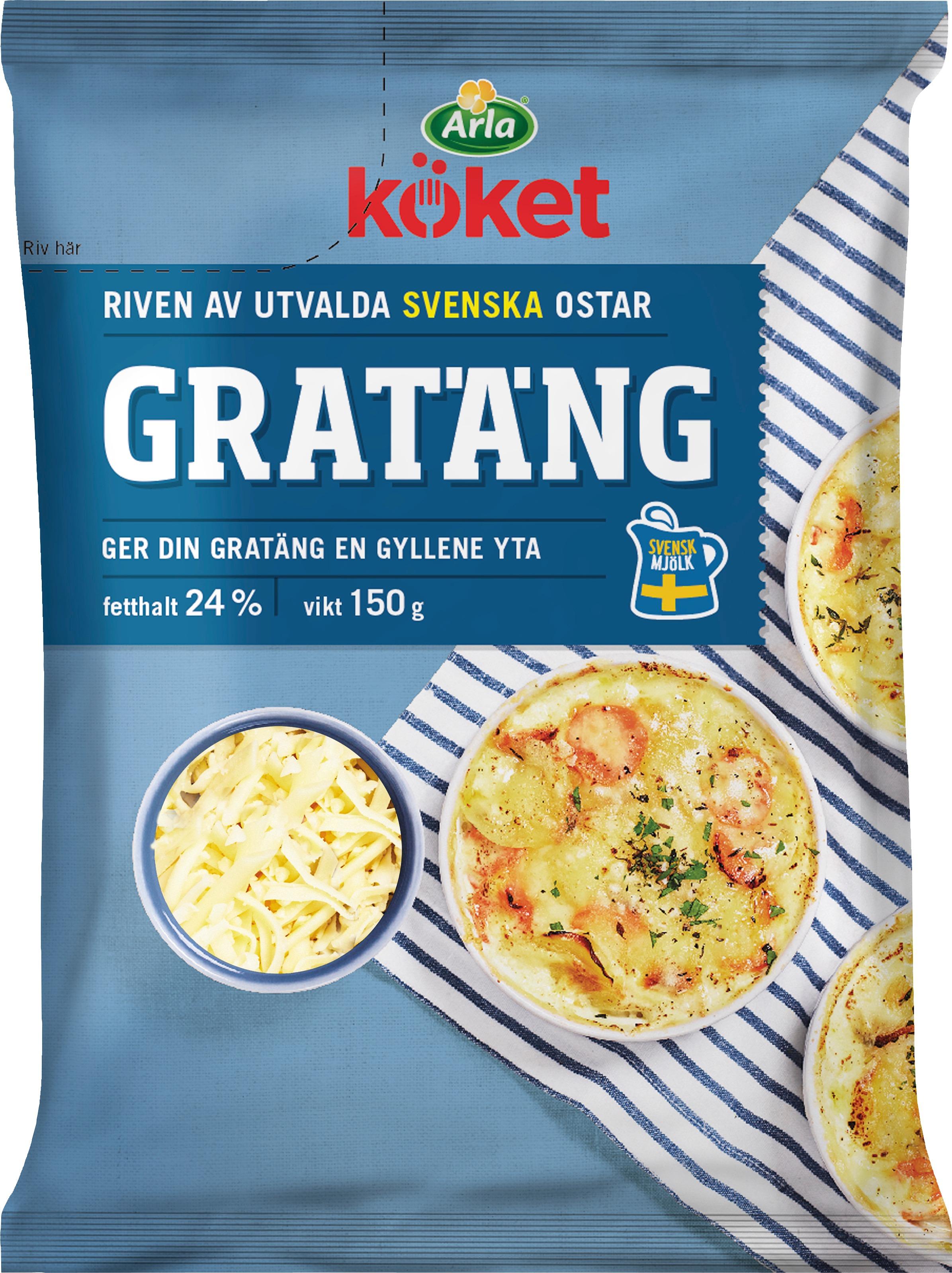 Riven ost Gratäng 24%