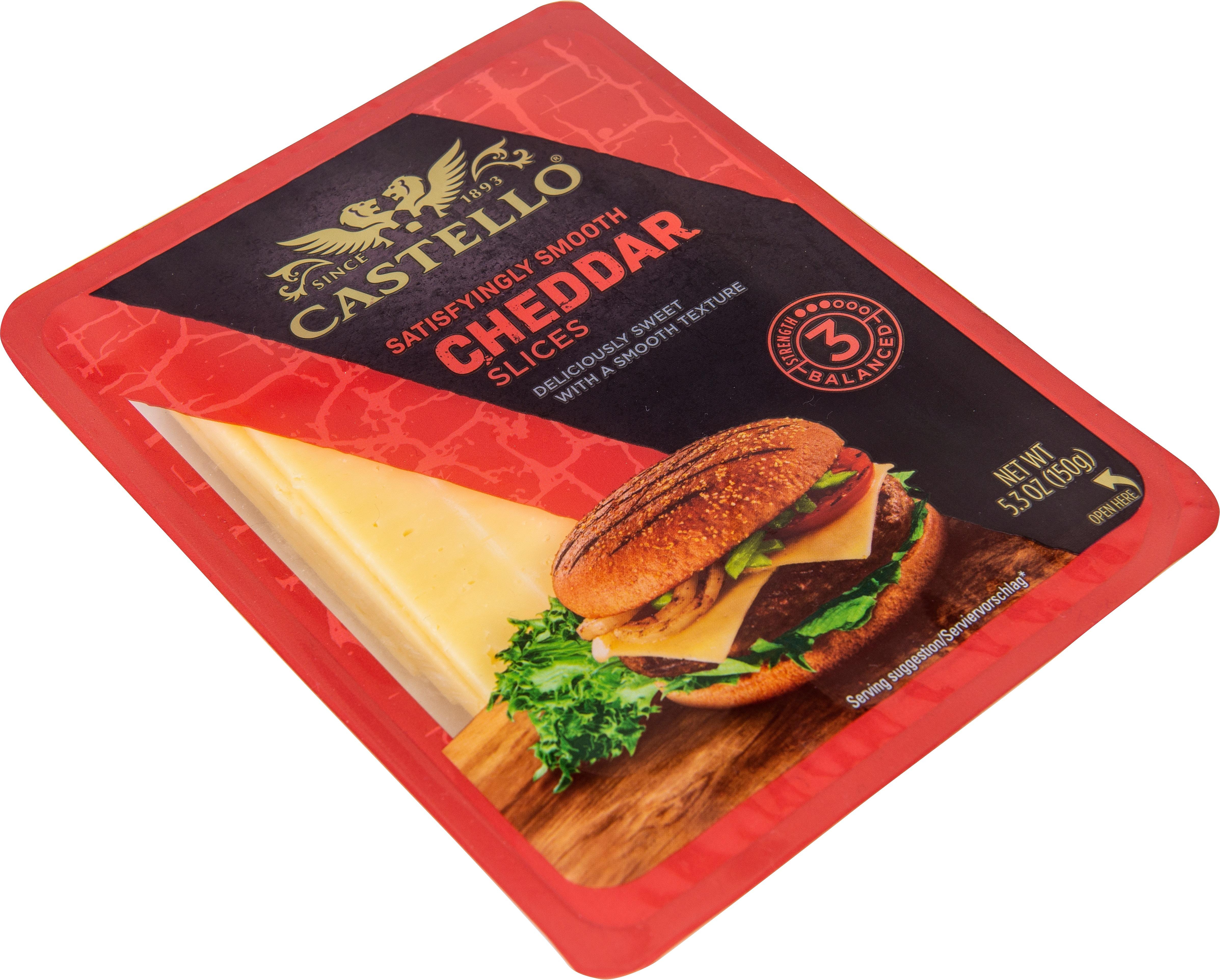 Burger Cheddar 35%