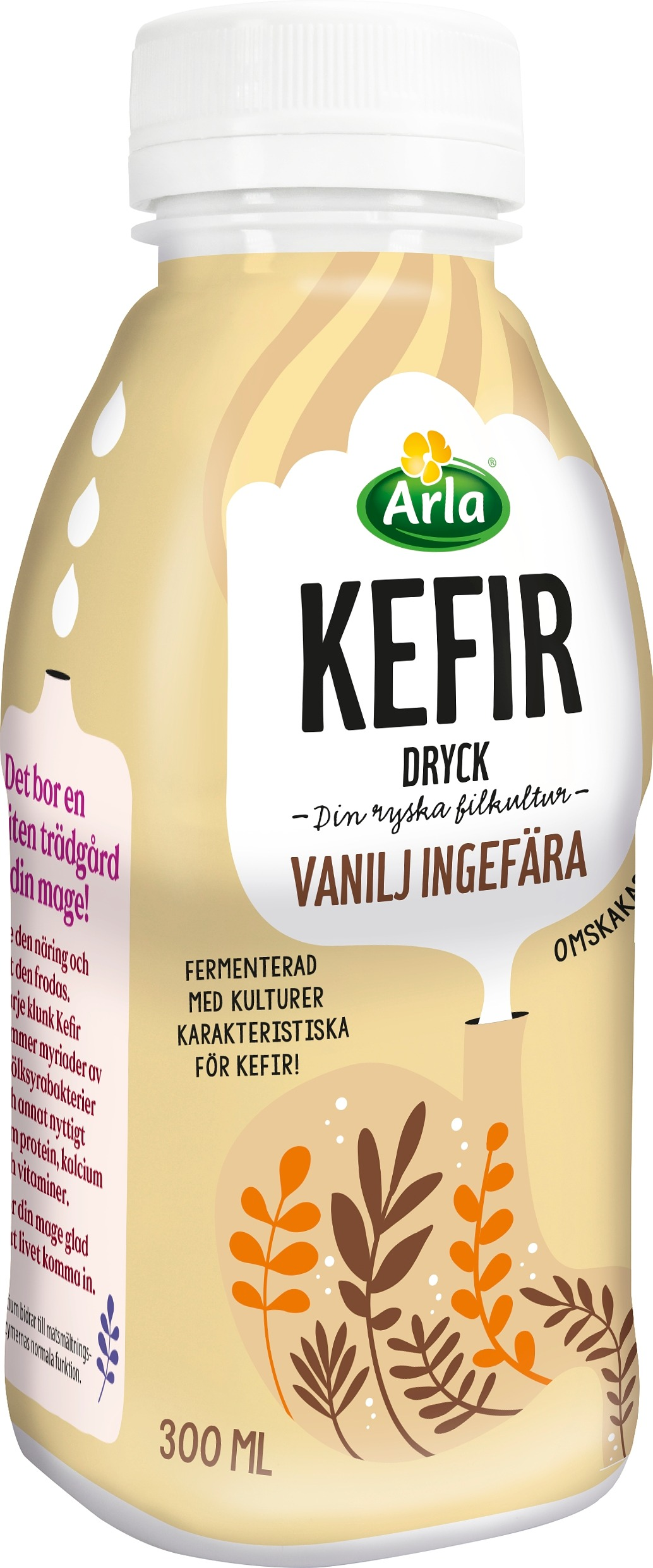 Kefir vanilj & ingefära dryck