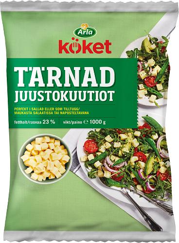 Salaattijuustokuutiot 23%